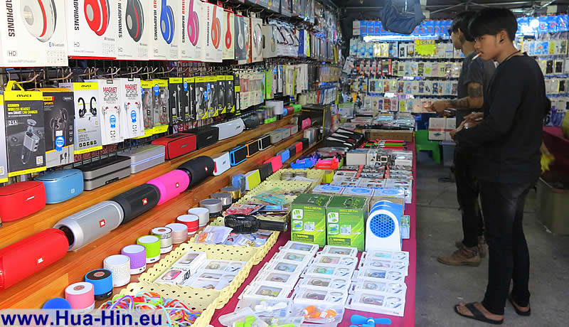 Buy electronics Grand Market Hua Hin