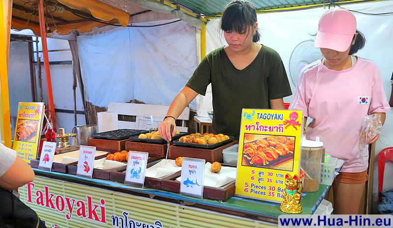 Takoyaki at Grand Market Hua Hin
