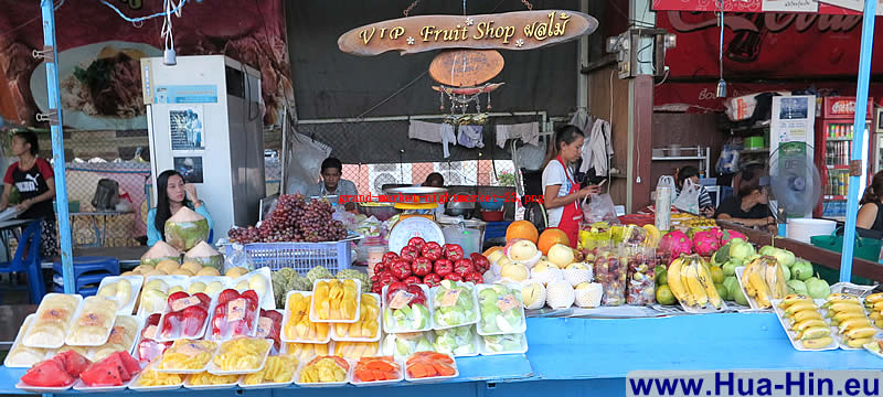 Fresh fruits Grand Market Hua Hin
