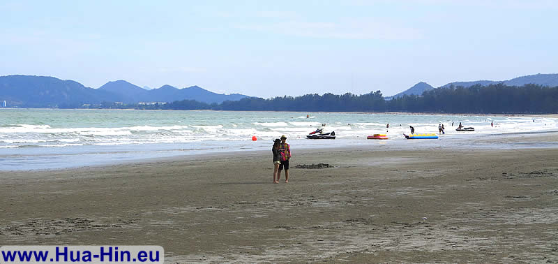 Khao Takiab beach romantic walks