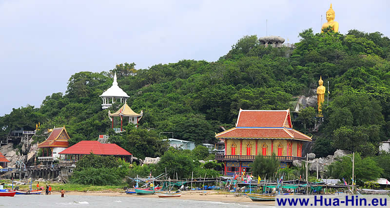 South of Hua Hin beach Khao Tao Sai Noi