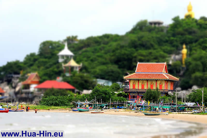 Miniature Effect Photo Khao Tao beach Hua Hin